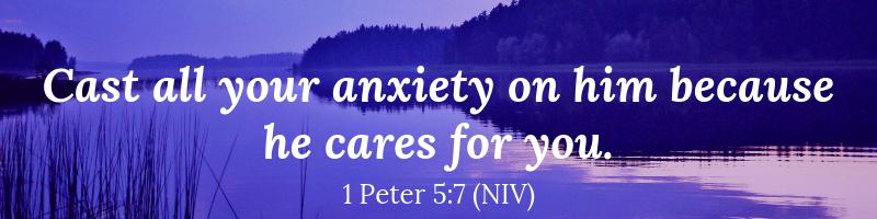 Bible verse 1 Peter 5:7