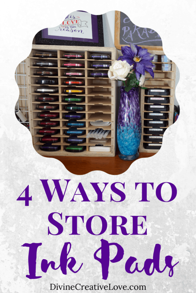how to store ink pads