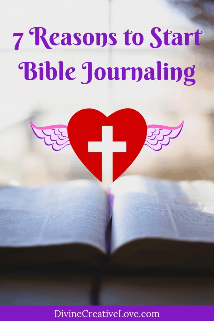 reasons to start Bible journaling