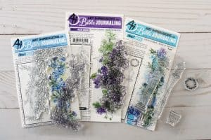 Art Impressions stamps for Bible journaling