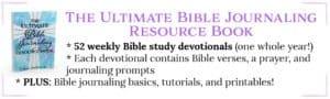 Bible journaling ebook