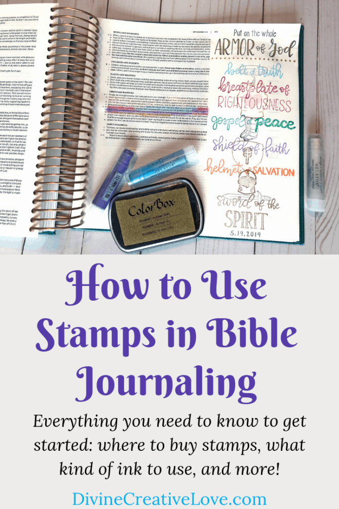 how to use stamps