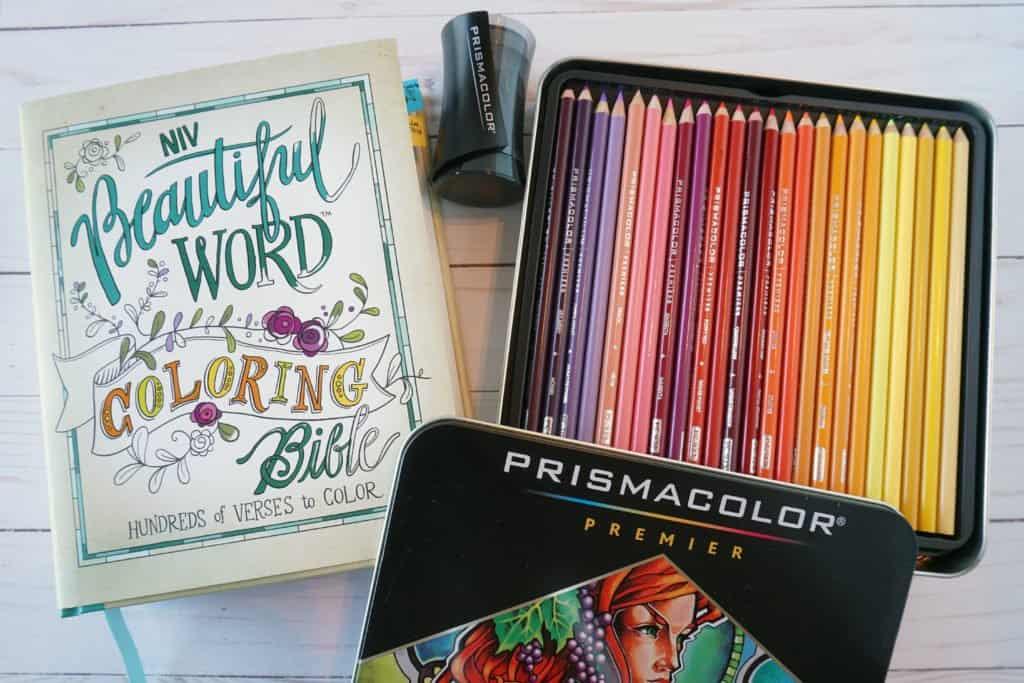 Bible study gift idea - coloring Bible