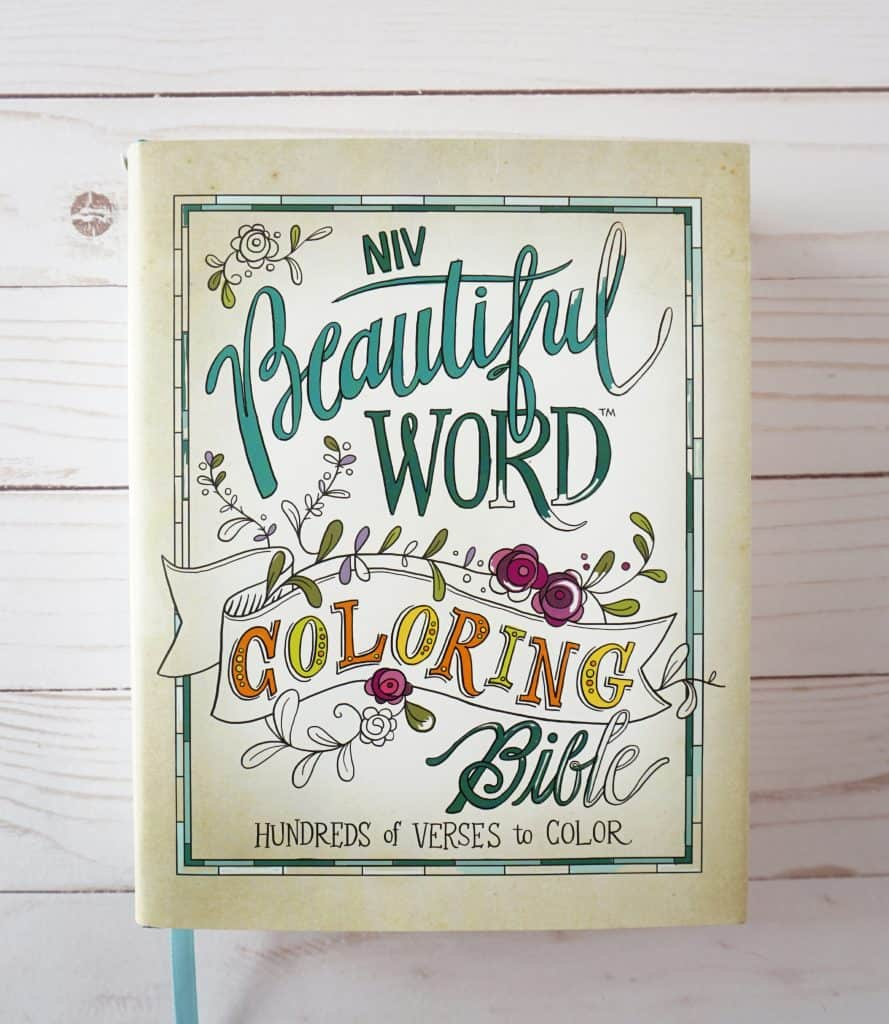 Beautiful Word Coloring Bible cover