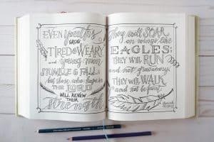 Beautiful Word Coloring Bible - Isaiah 40:30-31