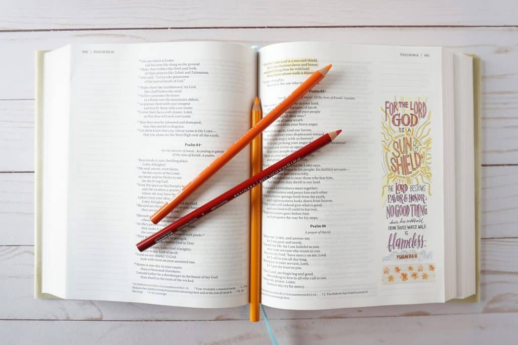 Beautiful Word Coloring Bible - Psalm 84:11