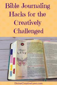 Bible journaling hacks