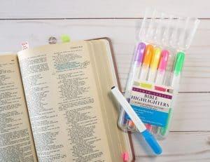 Bible dry highlighters - Studio Series