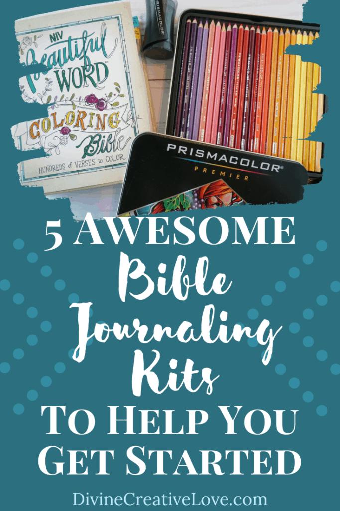 Bible journaling kits