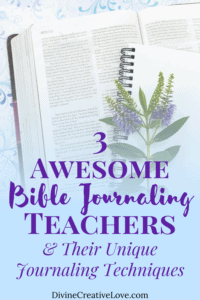 Bible journaling teachers to learn from