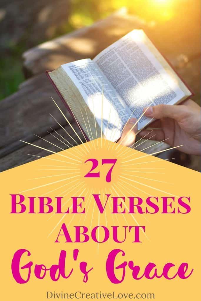 Bible verses about God's grace