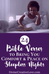 Bible verses to help me sleep