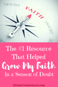 The #1 Resource That Helped Grow My Faith