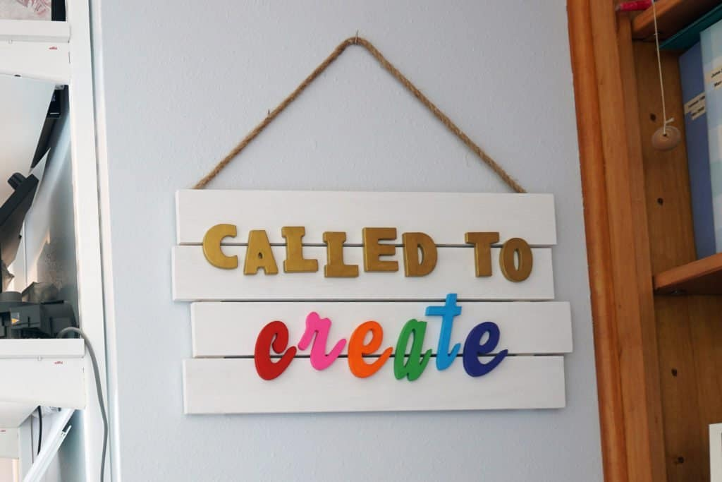 Called to create pallet sign