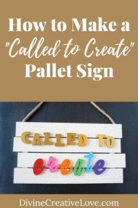How to Make a Called to Create Pallet Sign