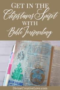 Christmas Bible Journaling
