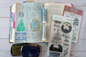 Bible journaling tutorial and supplies