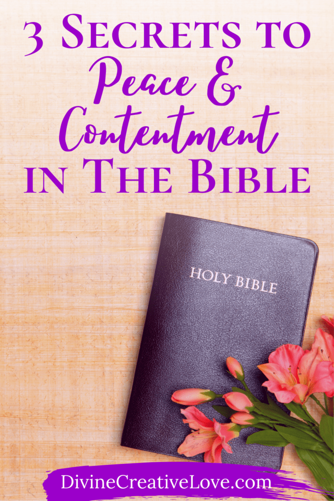 contentment in the Bible