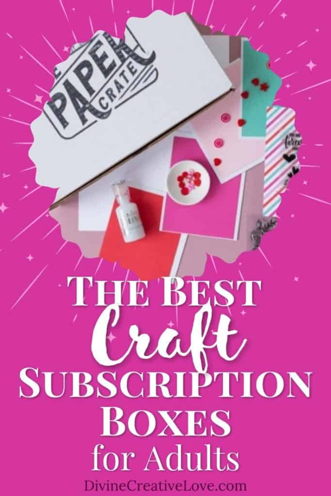 the best craft subscription boxes for adults