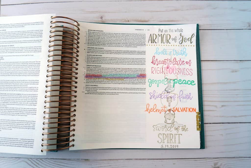 Illustrating Bible - best gift for Bible lovers