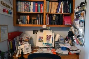 craft desk: before (so messy)