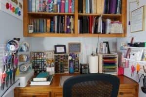 craft desk: after!