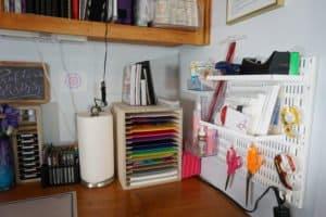 craft desk - left side