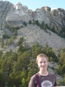 me at Mount Rushmore