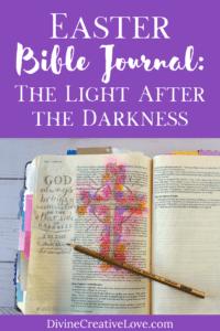 Easter Bible journal