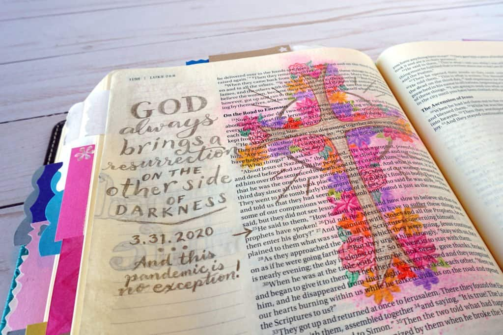 Easter Bible journal
