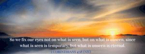 eternal - 2 Corinthians 4:18