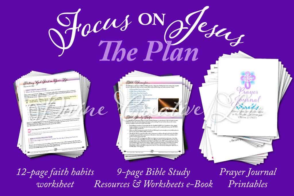 Focus on Jesus plan preview