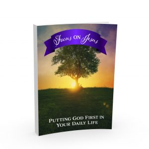 The Focus on Jesus plan cover