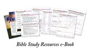 Focus on Jesus - Bible study resources