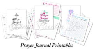 Focus on Jesus - prayer journals