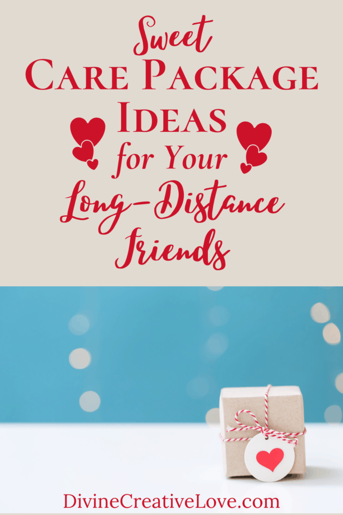 care packages for long-distance friends