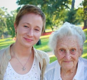 my grandmother and me