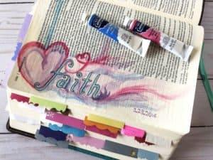 have faith - Hebrews 11 Bible journaling