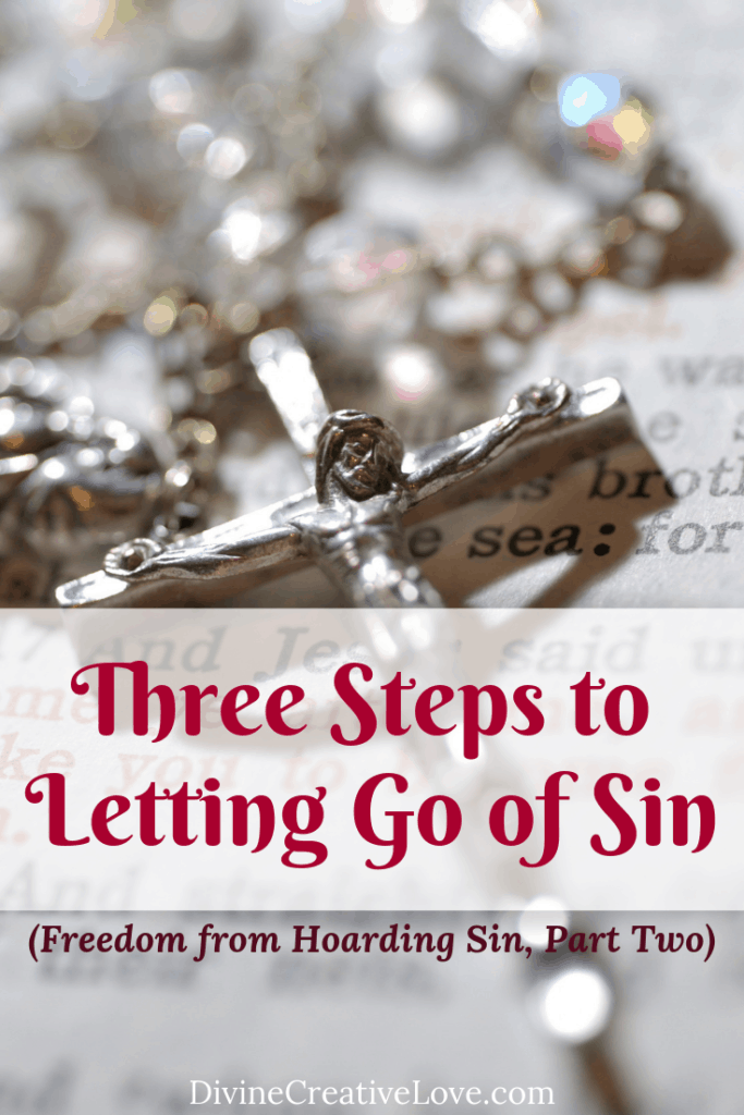 letting go of sin