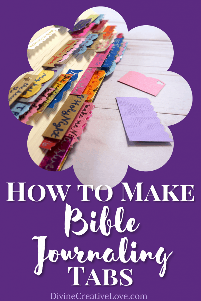 how to make Bible tabs