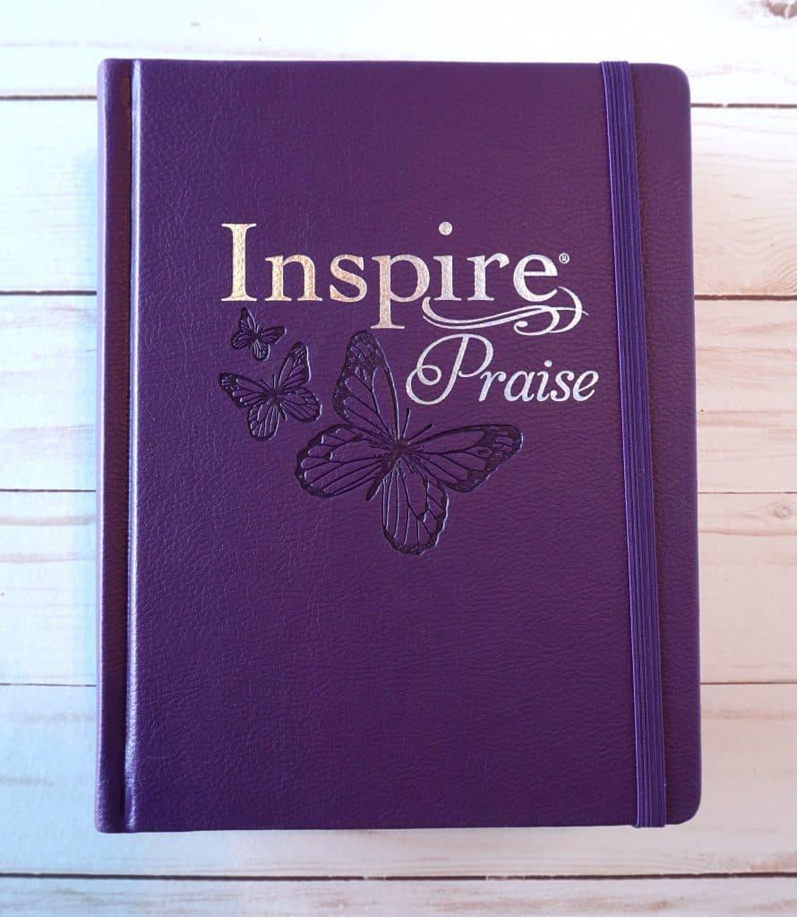 Inspire Praise NLT Coloring Bible