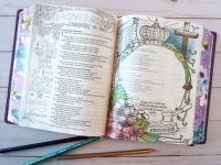 Bible journaling for beginners - Inspire Praise NLT Coloring Bible