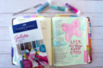 how to use gelatos in Bible journaling
