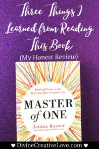 Master of One book review