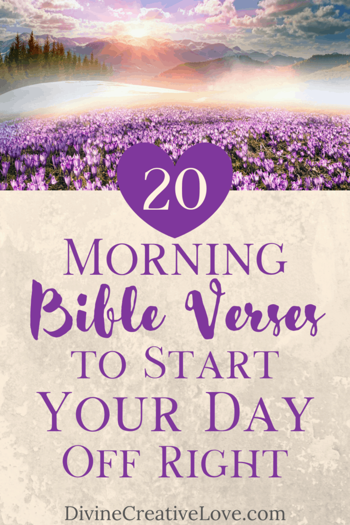 morning Bible verses to start your day off right