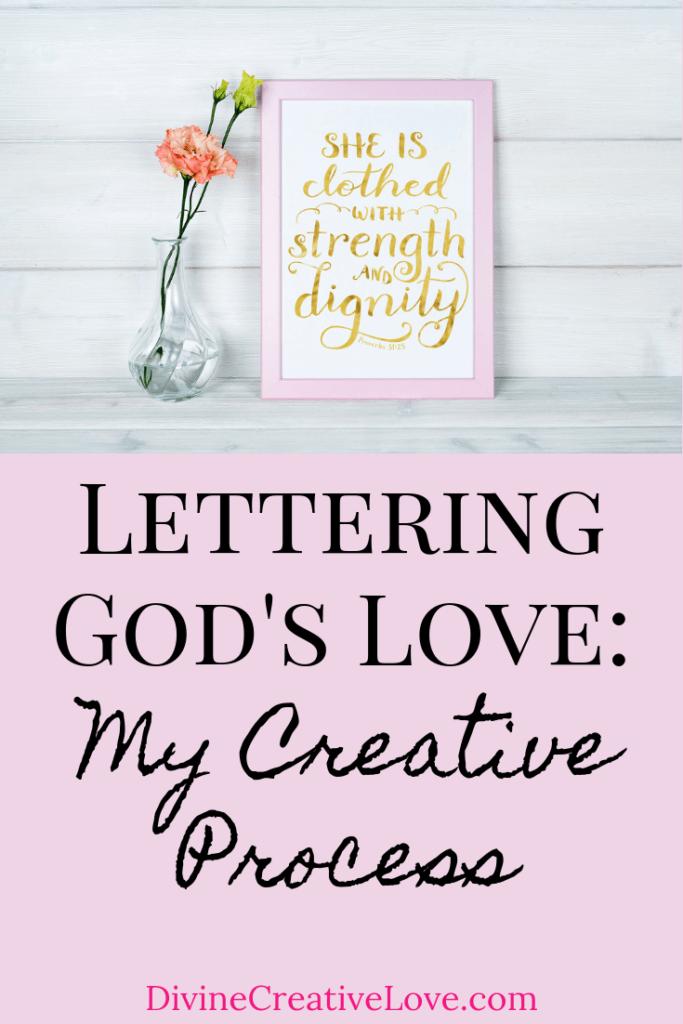 Lettering God's Love