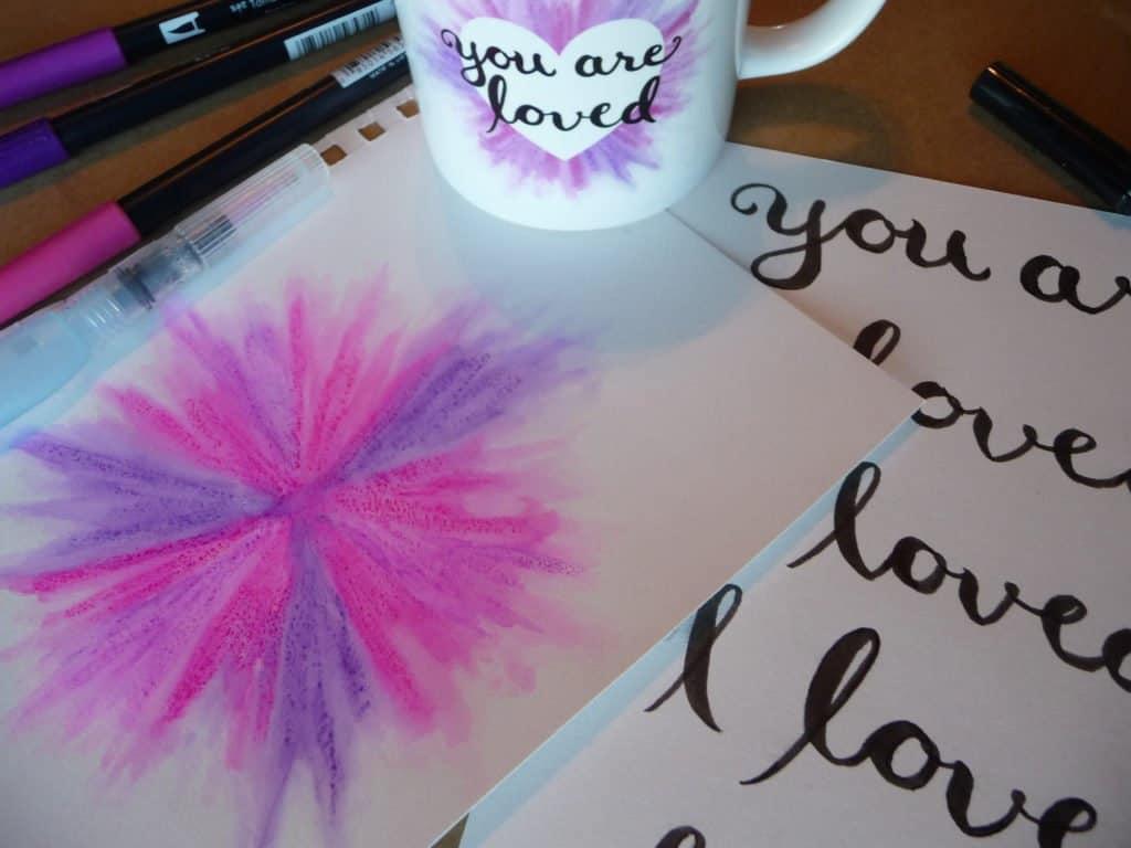John 3:16 art you are loved