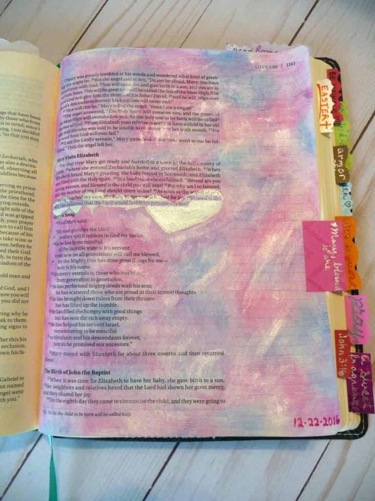 Bible journal - Luke 1:45