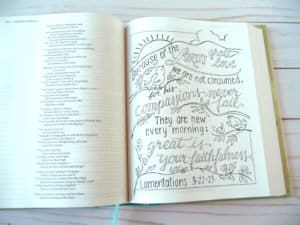 Lamentations coloring page