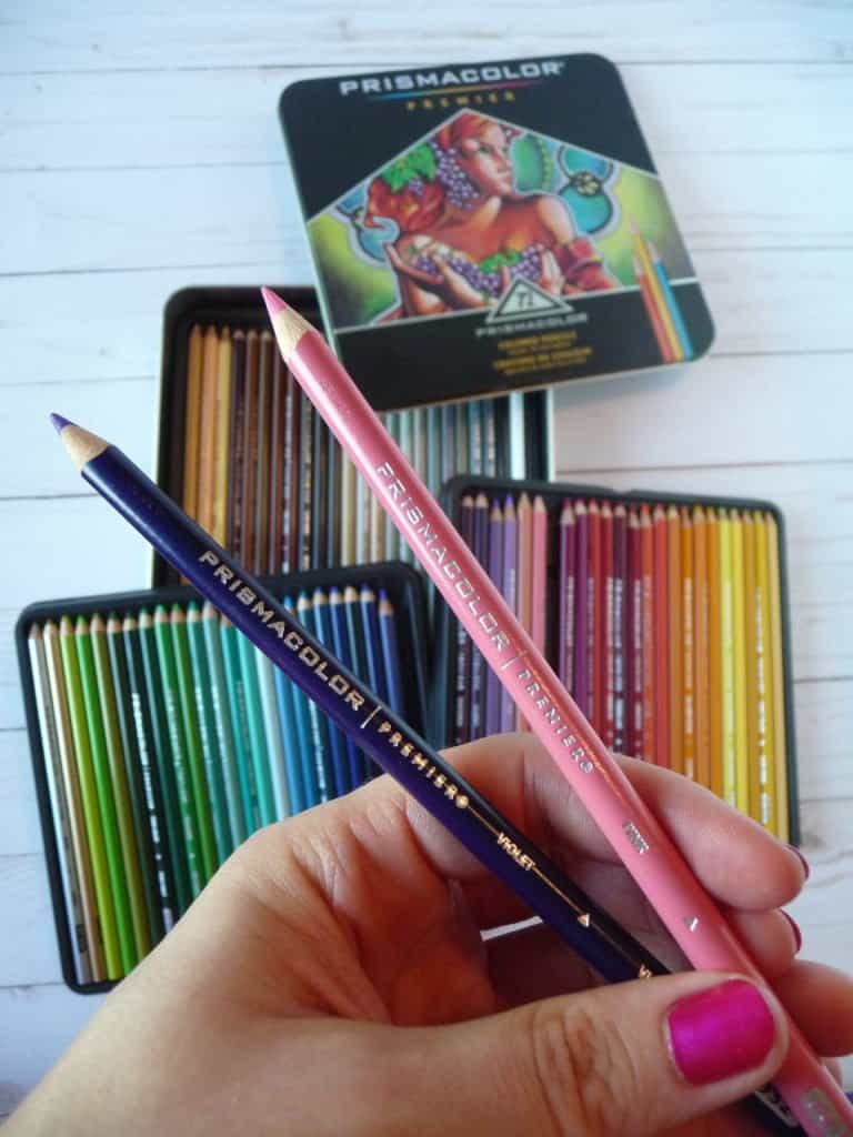 Prismacolor Premier colored pencils